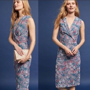 Anthropologie Maeve dress jacquard dress NWT